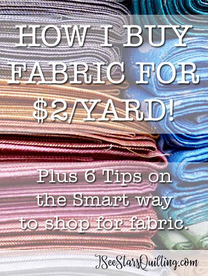 $2 a Yard on Fabric? - Is this for real?! WOW! These 6 tips are an awesome game changer in the fabric store!