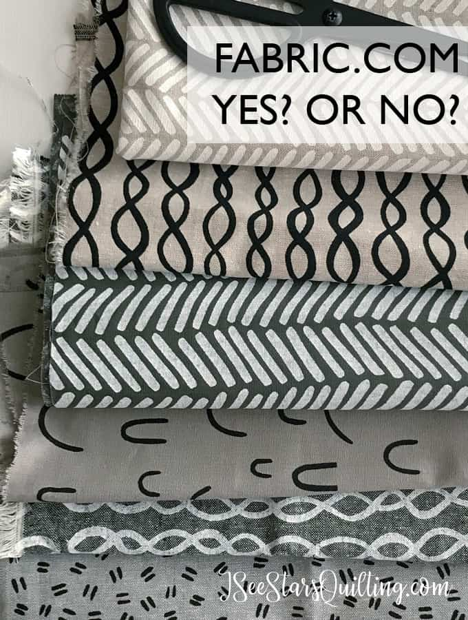 Fabric.com - should you? or no? Weighing in on if shopping for fabric online is a total game changer or if its not even worth it!