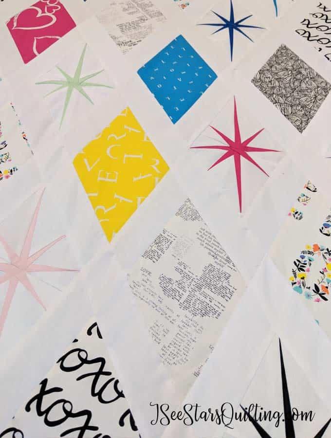 Atomic Starbust Quilt Pattern