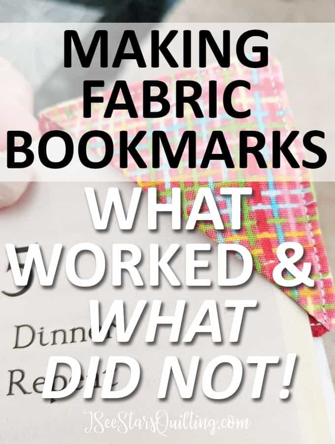 These DIY fabric bookmarks are the cutest! And they were such a fun sew! You could make these for gifts for all ages using scrap fabrics from your stash. It took me less than 5 minutes and I am already sewing 10 more for other kids on our street!