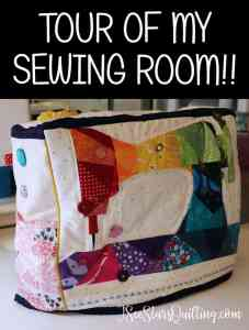 Creativity is best in a room filled with the things that bring you joy! I'm going to give you a tour of my sewing room today and share all my organization tips along the way!