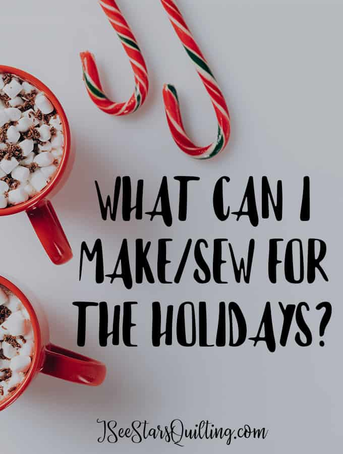 Need some inspiration? Do you want to see my To-Do list? Quilty Things To Make For The Holidays? you won't want to miss these fun ideas! Check out...