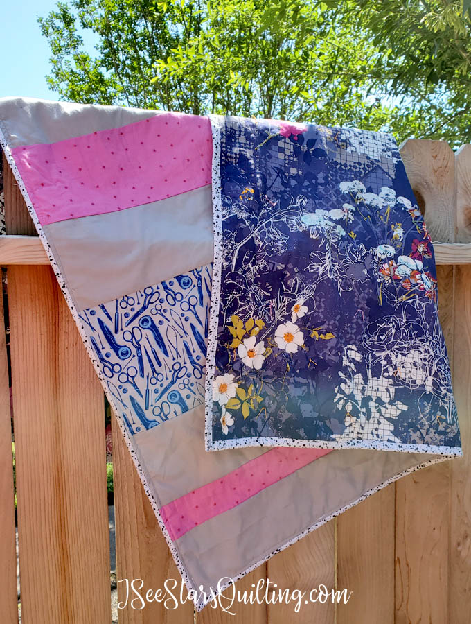 Stuck at home? Make a quilt! Check out the latest of my quilt projects and see how I made a Social Distancing Quilt symbolic of the crazy times we live in!