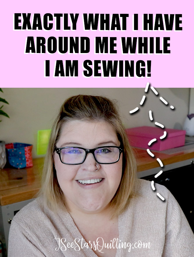Here is an in-depth look at the tools and products I always have within reach while sewing! These are my favorite tools to use while quilting!