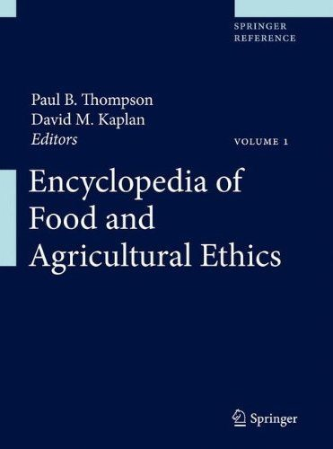 Call For Entries Encyclopedia Of Food And Agricultural