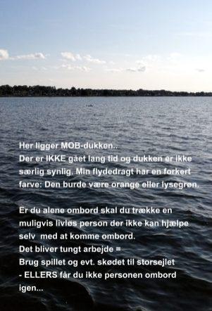 MOB Øvelse i Holbæk inderfjord Sommeren 2021