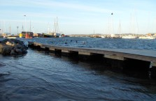 Stormen Urd 27/12 2016 Holbæk havn Kl. 11:45