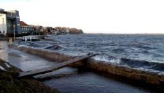 Stormen Urd 27/12 2016 Holbæk inderfjord Kl. 11:42