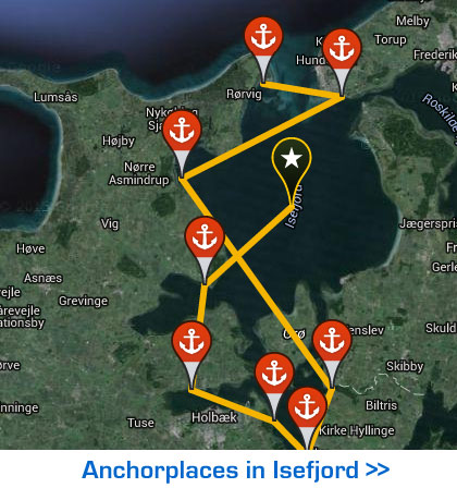 Interactive Tour - Ports in Isefjord - Zealand/Denmark