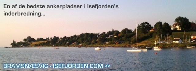 Bramsnæsvig i Isefjorden