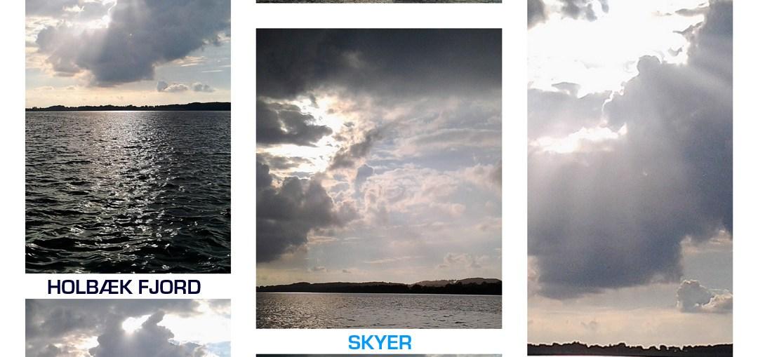 Skyer i Holbæk inderfjord. Fotos Frank Skibby Jensen