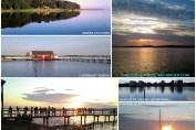 Collage med fotos fra Holbæk Fjord og Dragerup Vig