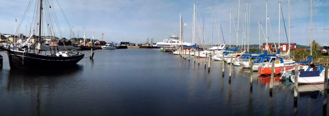 Panoramafoto Holbæk Havn. Foto: Isefjorden.com