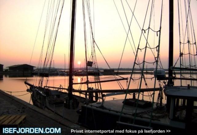Skumring over Holbæk ny havn - ALICED