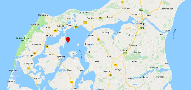 Isefjorden er Danmarks største fjord - Limfjorden er ikke en fjord