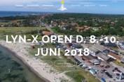 Skærmbillede af hjemmesiden for Lynæs Open 2018