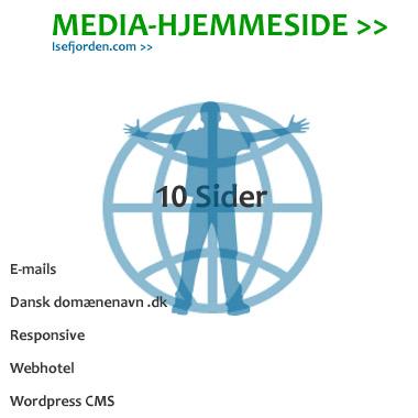 Media hjemmeside 10 sider
