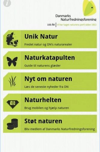 Naturguiden - Gratis app