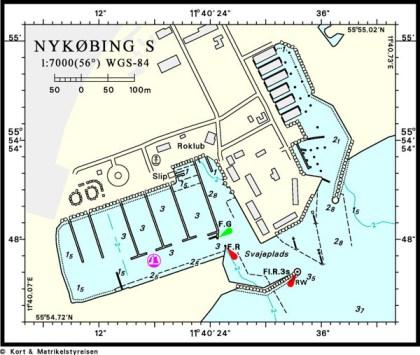 Havneplan Nykøbing Sjælland