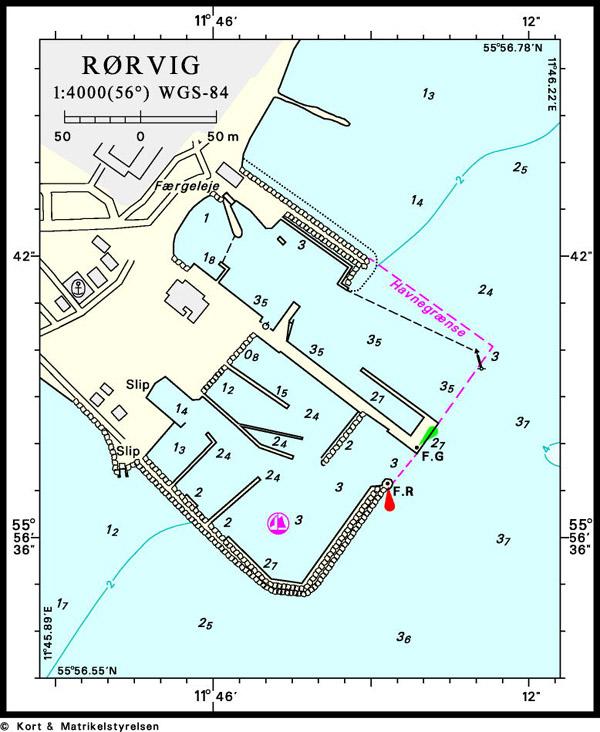 Havneplan Rørvig havn
