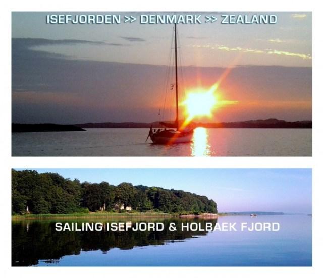 Collage Isefjorden - Denmark. Isefjorden.com