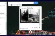 Sømileruten - Googlekort udar bejdet af Isefjorden.com
