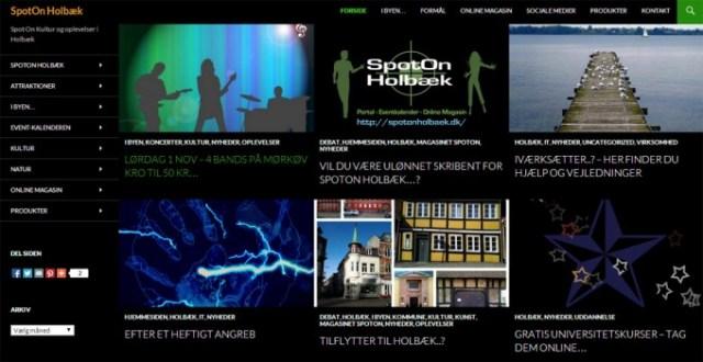 SpotOn Holbæk - Portal for Holbæk