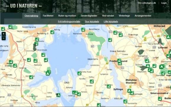 Shelters Omkring Isefjorden
