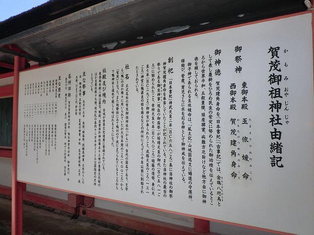 下鴨神社由緒