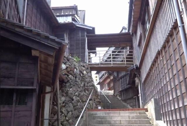 麻吉旅館渡り廊下