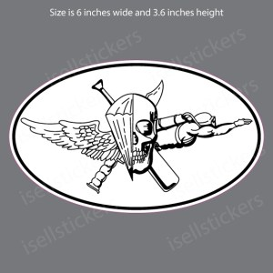 Jack of All Trades Marine Special Forces USMC Military Bumper Sticker Window Decal