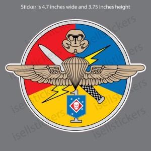 MA-3194-US-Marine-Corps-First-1st-Detachment-USSOCOM-Decal-Sticker-Grey