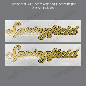Indian Motorcycle Springfield Thunder stroke Decal Sticker