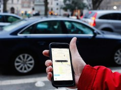 Uber posicionamiento GPS