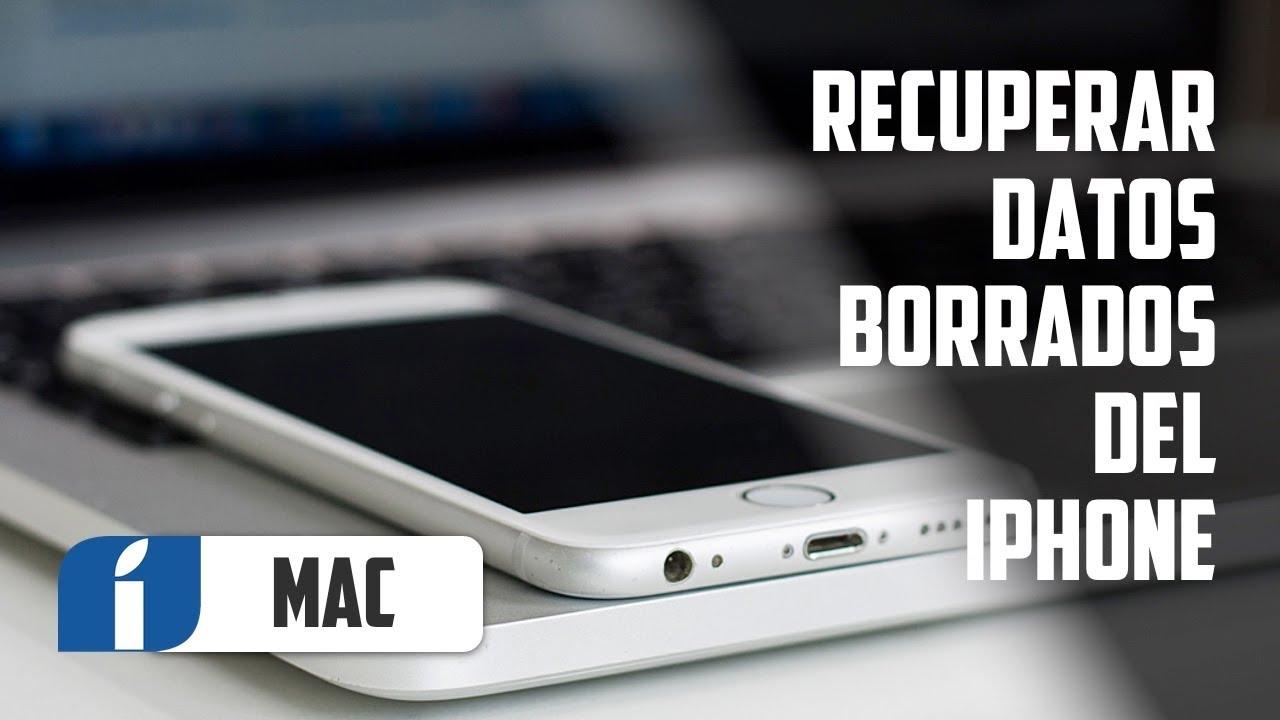 C\u00f3mo recuperar datos borrados del iPhone con Dr. Fone Data Recovery