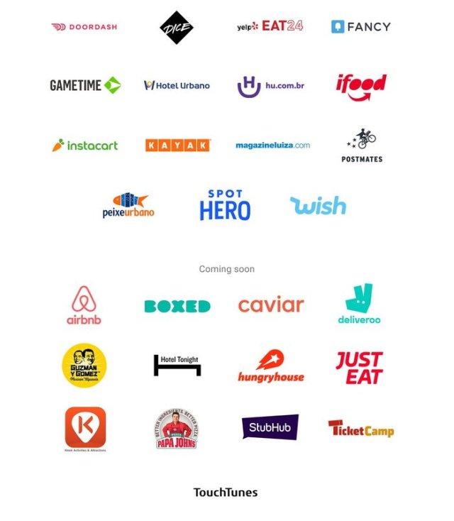 Algunos de los servicios que permiten Pay with Google