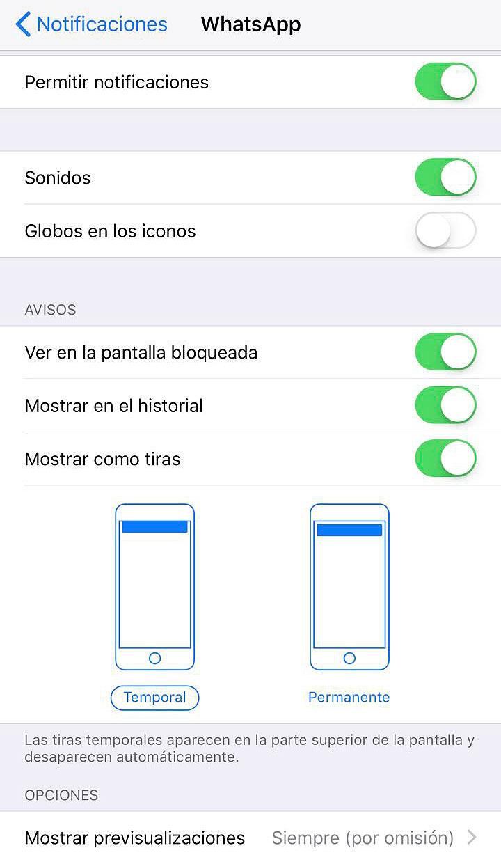 Así desactivamos los globos rojos de notificación en los iconos de las aplicaciones