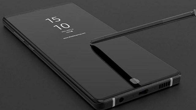 Una imagen revela el diseño del Samsung Galaxy Note 9