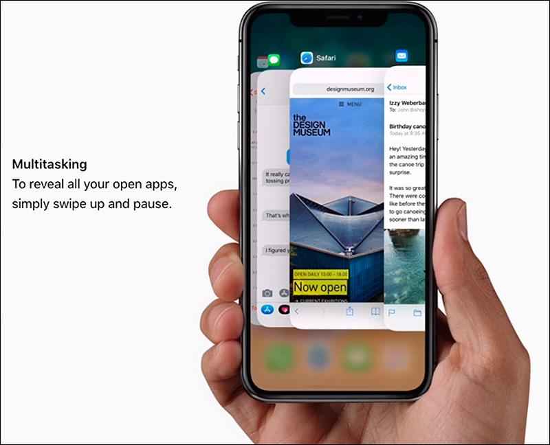 iPhone X Multitarea y liberar memoria RAM
