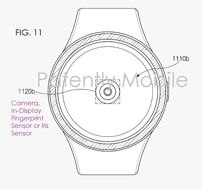 Samsung y su nueva patente para introducir un lector de huellas dactilares en las pantallas de sus próximos smartwatch