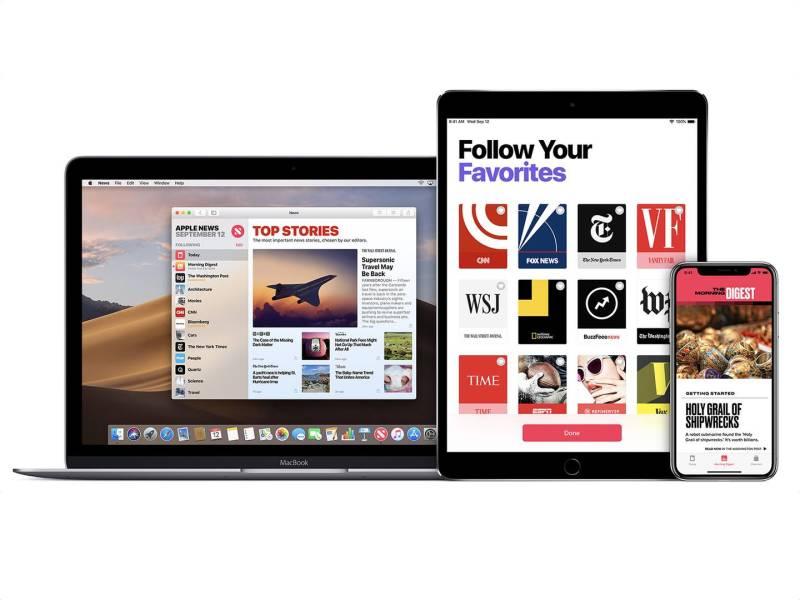 Se encuentran pistas del servicio de revistas por suscripción de Apple en la beta de macOS 10.14.4