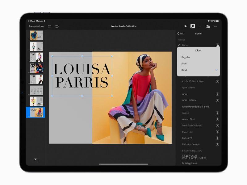 iPadOS y sus nuevas fuentes para el iPad