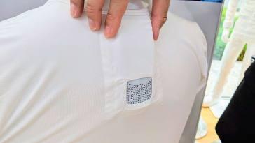 Sony Reon Pocket la camiseta con aire acondicionado y calefacción