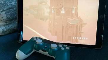 Así es el juego de Journey jugado desde un iPad