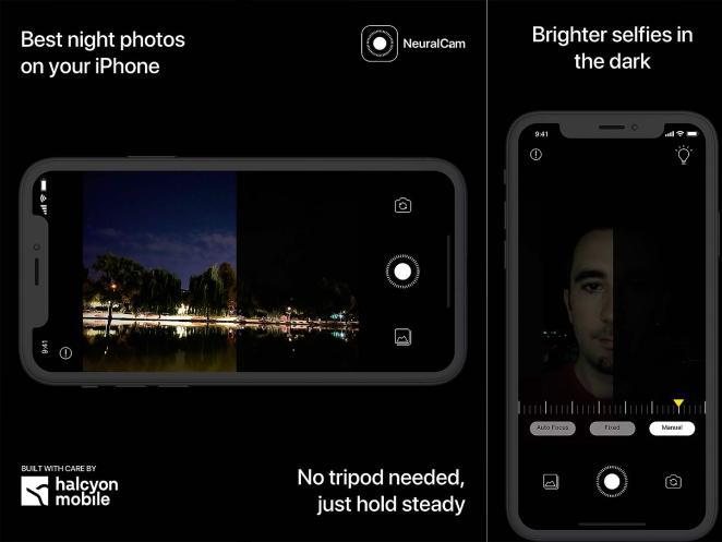 Así funciona NeuralCam de noche desde nuestro iPhone