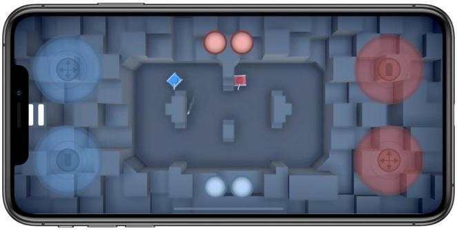 Modo multijugador en Tiny Tanks!