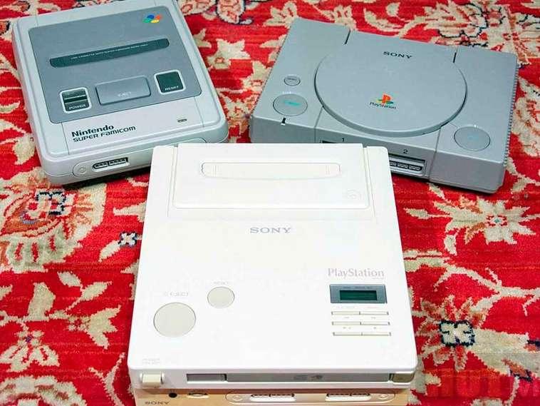 La mezcla de Sony y Nintendo la Nintendo Play Station