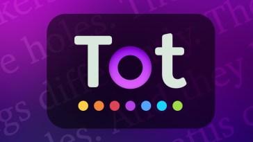 Tot Pocket: una forma bonita y simple de tomar notas rápidas y editar texto | App de la Semana