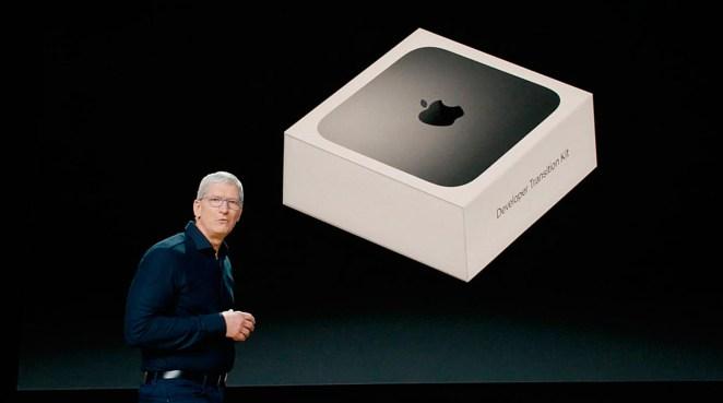 Tim Cook y el Apple Developer Transition Kit