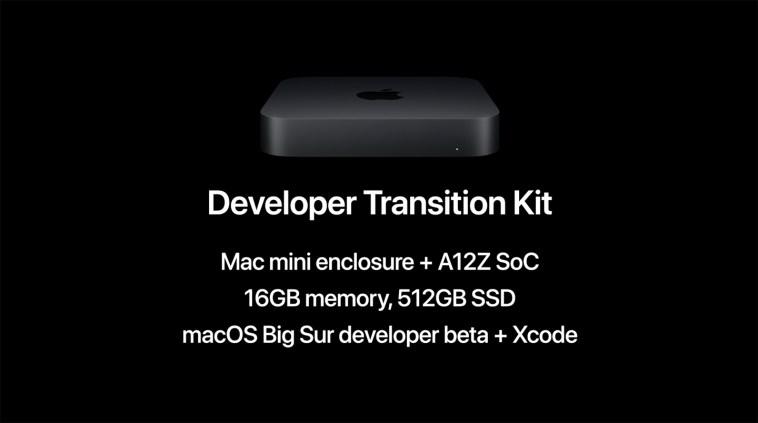 Así es el Apple Developer Transition Kit